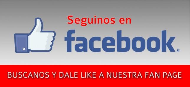 Seguinos en Facebook!!